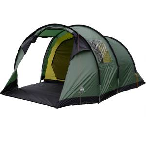 Urberg oland 4 person tunnel tent green