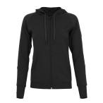 Super natural w sporty zip hoodie 220 caviar