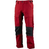 Lundhags authentic jr pant red