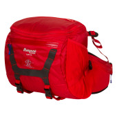 Bergans tydal hip pack 11l red cobalt blue