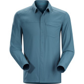 Arc teryx skyline ls shirt men s blue smoke