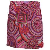 Skhoop summer short skirt cerise pattern