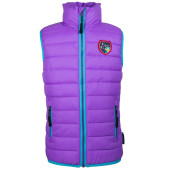 Kozi kidz smidig padded gilet light lilac sea