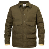 Fjallraven sormland down shirt jacket dark olive