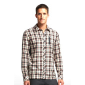 Icebreaker mens compass ls shirt plaid monsoon