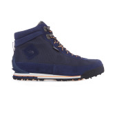 The north face w back to berkeley boot ii cosmic blue impact orange