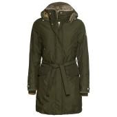 Didriksons voyage women s coat dark green