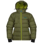 Bergans down youth jacket green tea lime light seablue