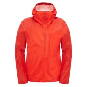 The north face m fuseform cesium anorak fiery red fuse