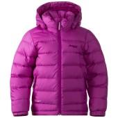 Bergans down kids jacket heather purple dark heather