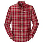 Jack wolfskin gifford shirt men indian red checks