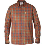 Fjallraven ovik flannel shirt ls autumn leaf