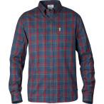 Fjallraven ovik flannel shirt ls navy