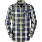 Jack wolfskin wichita shirt men dark teal checks