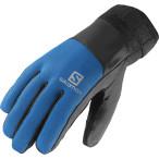 Salomon thermo glove m black union blue