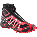 Salomon snowcross cs black bright red cane