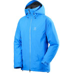 Haglofs skra ii insulated jacket gale blue