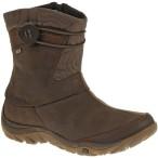 Merrell dewbrook zip waterproof brown