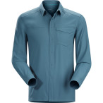 Arc teryx skyline ls shirt men s blue smoke