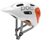Poc trabec race white orange