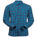 Bergans granvin shirt navy seablue check
