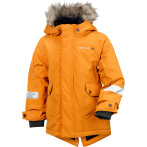 Didriksons malo kid s jacket burnt glow