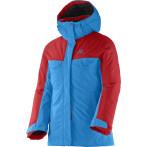 Salomon sashay jr jacket g blue line poppy