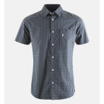 Peak performance echo checked ss shirt dark olive checked