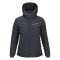 Peak performance women s frost down hooded jacket blue shadow